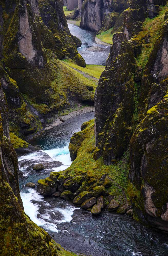 River in gorge